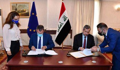المفوضية العليا توقّع مذكرة تفاهم مع بعثة الاتحاد الأوروبي لرصد الانتخابات المقبلة