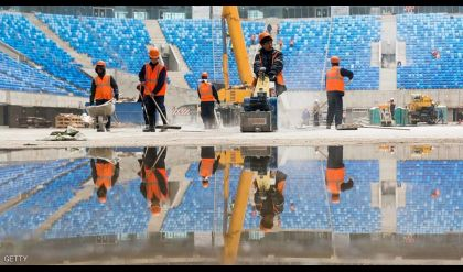 توثيق حالات إساة لعمال مونديال 2018